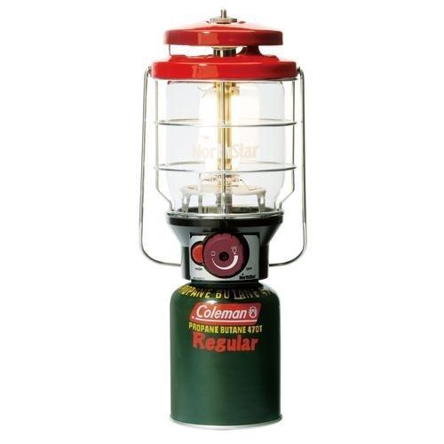 【山野賣客】美國 Coleman 新款 2500 北極星瓦斯燈 紅 露營燈 電子點火 CM-5521J